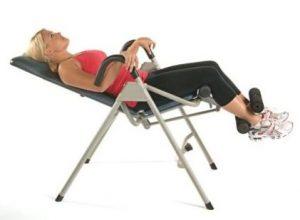 Stamina InLine Inversion Upside down chair